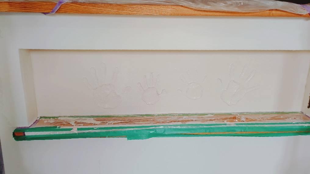 漆喰手形✋