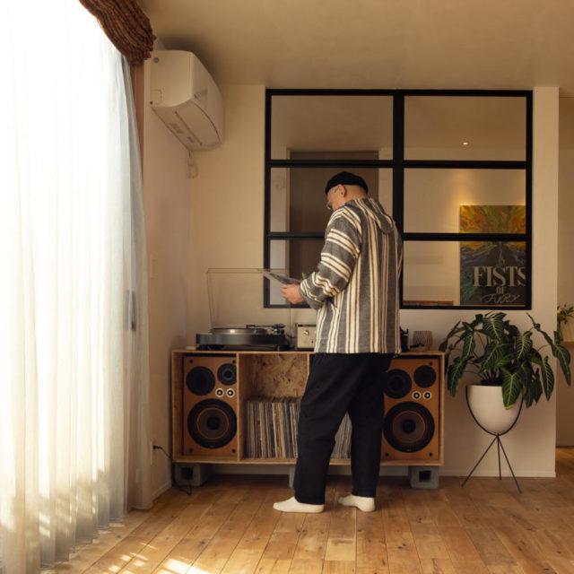 音楽室のある「音を楽しむ家」